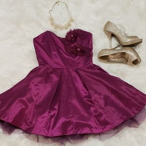 Fushia Party Dress